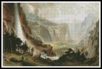 The Domes of Yosemite - Cross Stitch Chart