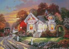Down the Lane - Cross Stitch Chart