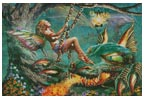 Dragon and Fairy Swing - Cross Stitch Chart