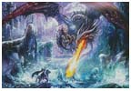 Dragon Attack - Cross Stitch Chart