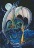 Dragon Causeway (Large) - Cross Stitch Chart