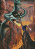 Dragon Chasm - Cross Stitch Chart