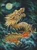 Dragon in the Moonlight - Cross Stitch Chart