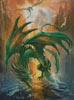 Dragon of the Lake - Cross Stitch Chart