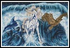 Dreaming Wave - Cross Stitch Chart