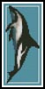 Dusky Dolphin Bookmark - Cross Stitch Chart