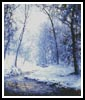 Early Snow - Cross Stitch Chart