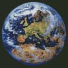 Earth (Europe and North Africa) - Cross Stitch Chart