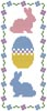 Easter Bookmark - Cross Stitch Chart