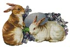 Easter Bunnies - Cross Stitch Chart