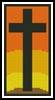 Easter Cross Bookmark - Cross Stitch Chart