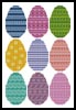 Easter Egg Collection - Cross Stitch Chart