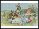 Easter Girl - Cross Stitch Chart