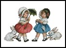 Easter Girls - Cross Stitch Chart