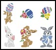 Easter Motifs 2 - Cross Stitch Chart