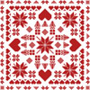 Easy Christmas Sampler (Facebook Group) - Cross Stitch Chart