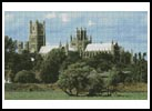 Ely Cathedral - Cross Stitch Chart