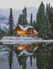 Emerald Lake Canada - (Facebook Group) Cross Stitch Chart