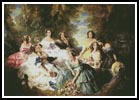 The Empress Eugenie - Cross Stitch Chart