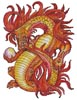 Eternity Dragon - Cross Stitch Chart