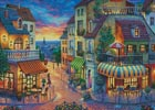 Europe Street (Large) - Cross Stitch Chart