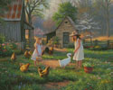 Evening at Grandmas House - Cross Stitch Chart