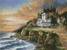 Evening Light - Cross Stitch Chart