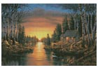 Evening Shadow - Cross Stitch Chart