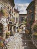 Eze Village - Cross Stitch Chart