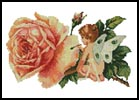 Fairy Flower Painter - Cross Stitch Chart