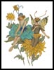 Fairy Flowers - Cross Stitch Chart