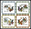 Fairy Season Sampler - Cross Stitch Chart