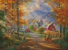 Fall Memories (Large) - Cross Stitch Chart
