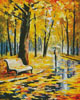 Fall Rain - Cross Stitch Chart