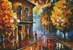 Fall Rain 2 - Cross Stitch Chart