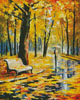 Fall Rain (Large) - Cross Stitch Chart