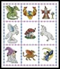 Fantasy Sampler - Cross Stitch Chart