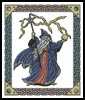 Fantasy Wizard - Cross Stitch Chart