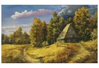 Farm in the Autumn - Cross Stitch Chart