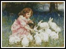 Feeding the Rabbits - Cross Stitch Chart