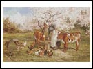 Feeding time in the Orchard - Cross Stitch Chart