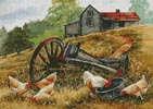 Feeding Time - Cross Stitch Chart
