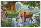 Fell Ponies - Cross Stitch Chart