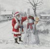 Festive Frosty - Cross Stitch Chart