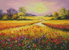 Fields of Gold - Cross Stitch Chart
