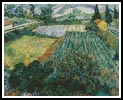 Field with Poppies (Large) - Cross Stitch Chart