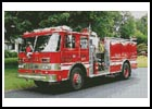 Fire Engine - Cross Stitch Chart