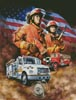 Fireman - Cross Stitch Chart