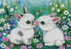 First Kiss - Cross Stitch Chart