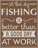 Fishing Quote 2 - Cross Stitch Chart